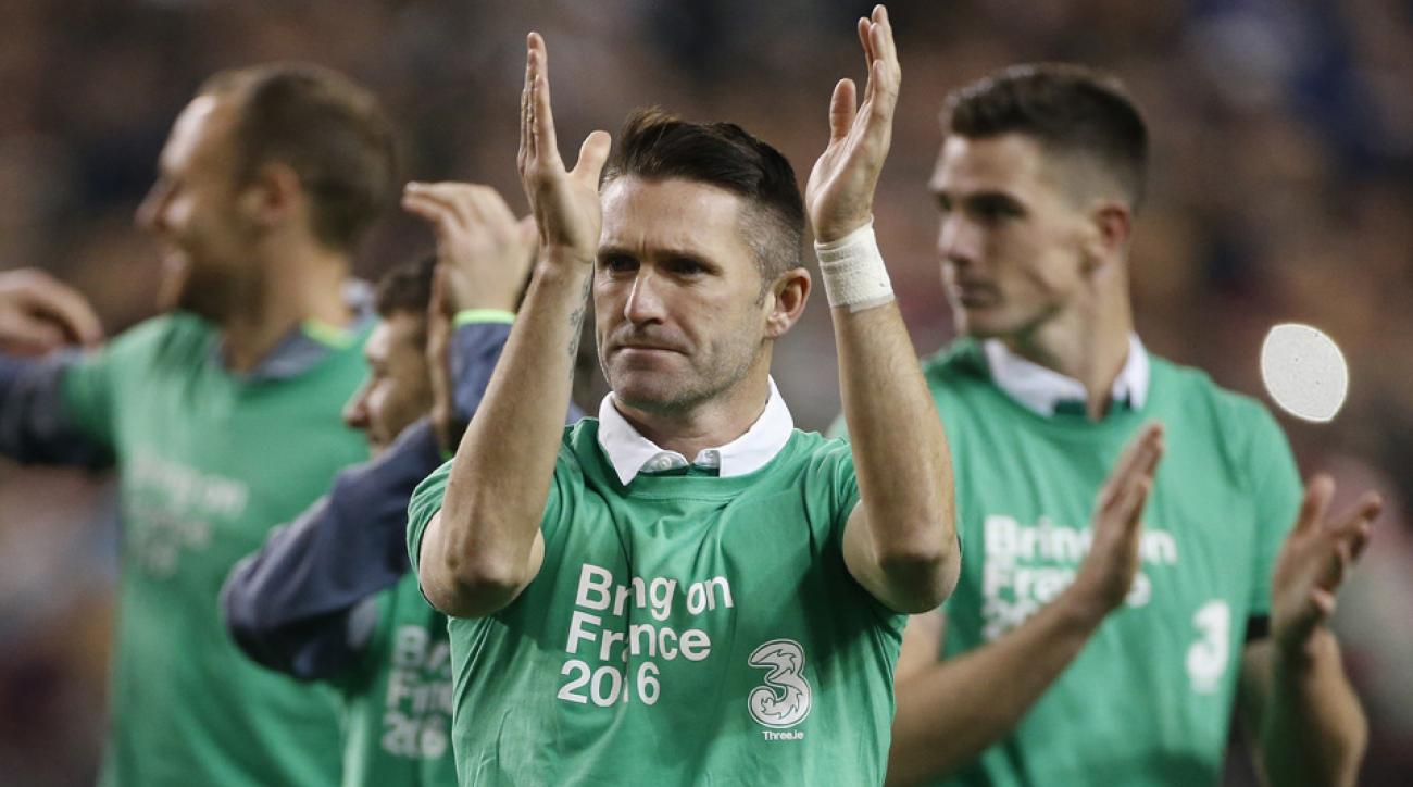 Robbie Keane has made Ireland's Euro 2016 roster