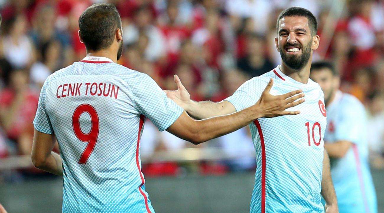Turkey's Euro 2016 roster