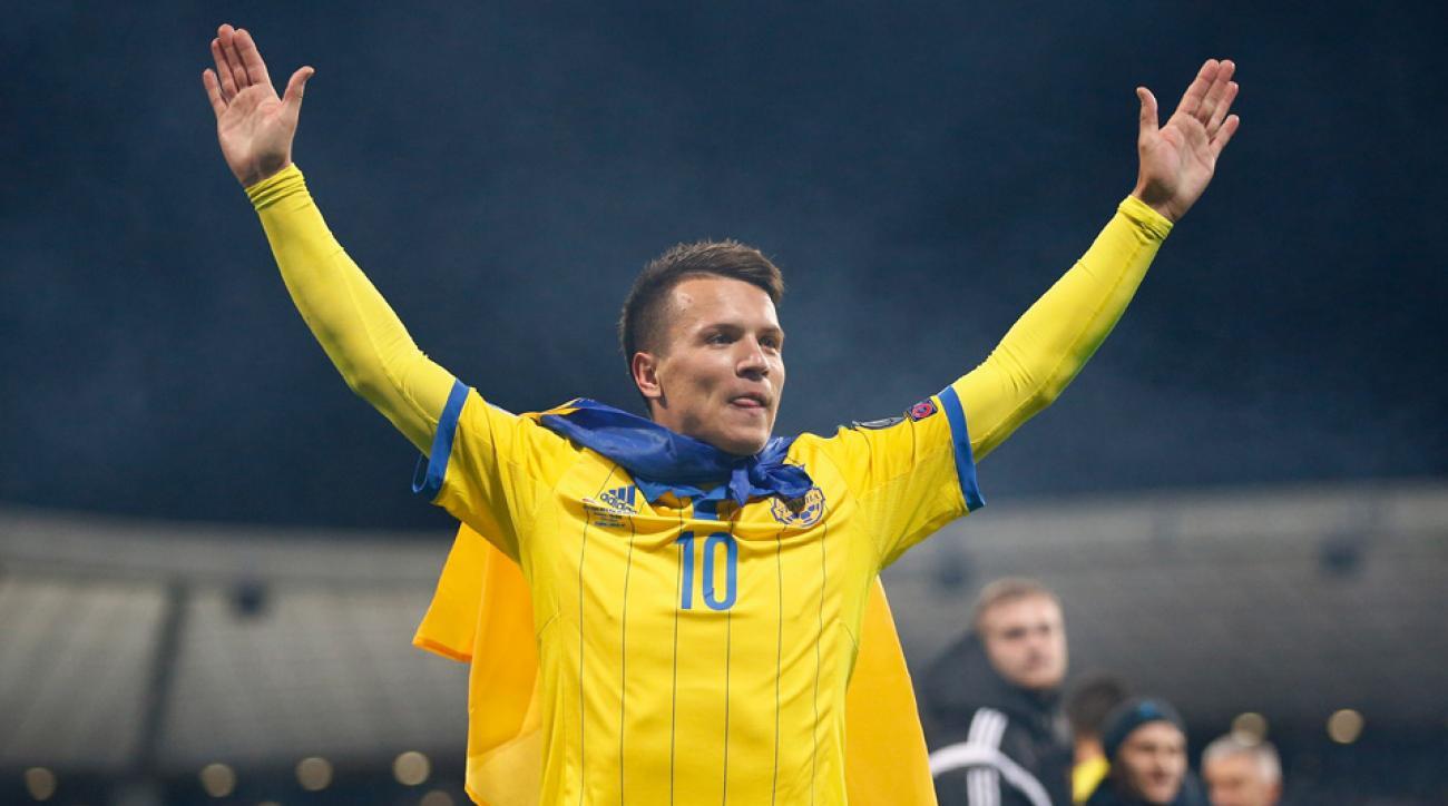 Ukraine's Euro 2016 roster