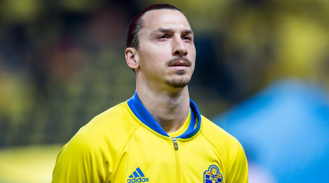 Zlatan Ibrahimovic leads Sweden at Euro 2016
