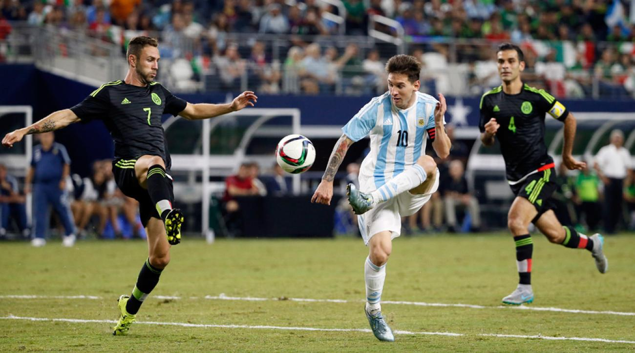 Lionel Messi and Argentina face a challenge from Mexico to win Copa America Centenario