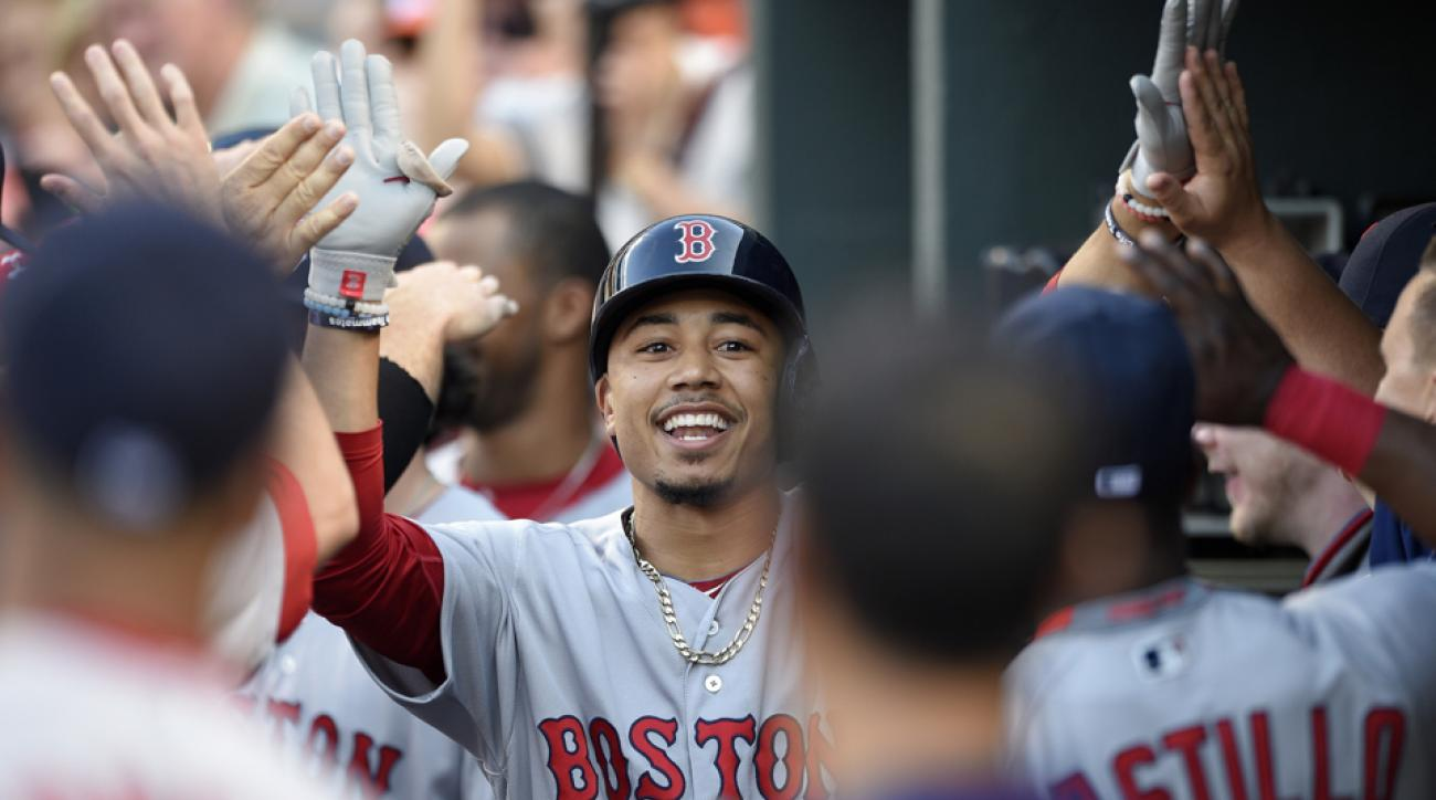 mookie betts two home runs red sox orioles