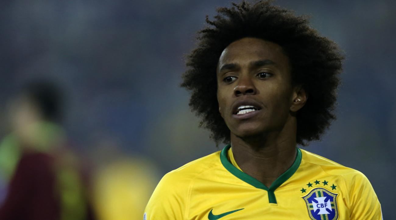 Willian leads Brazil at Copa America