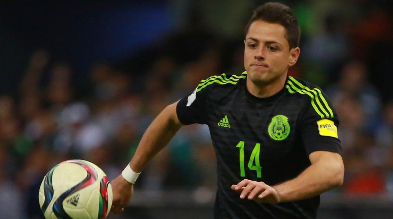 Chicharito scores Mexico's winner vs. Chile