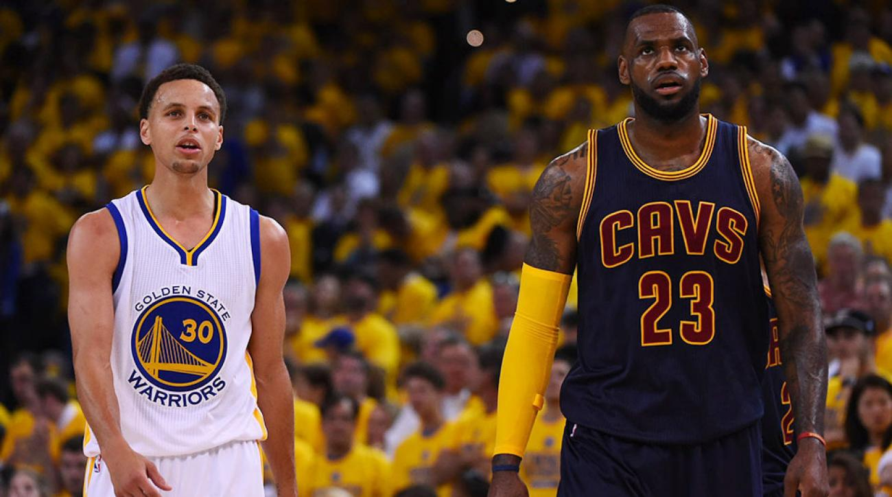 lebron james vs stephen curry nba finals ile ilgili görsel sonucu