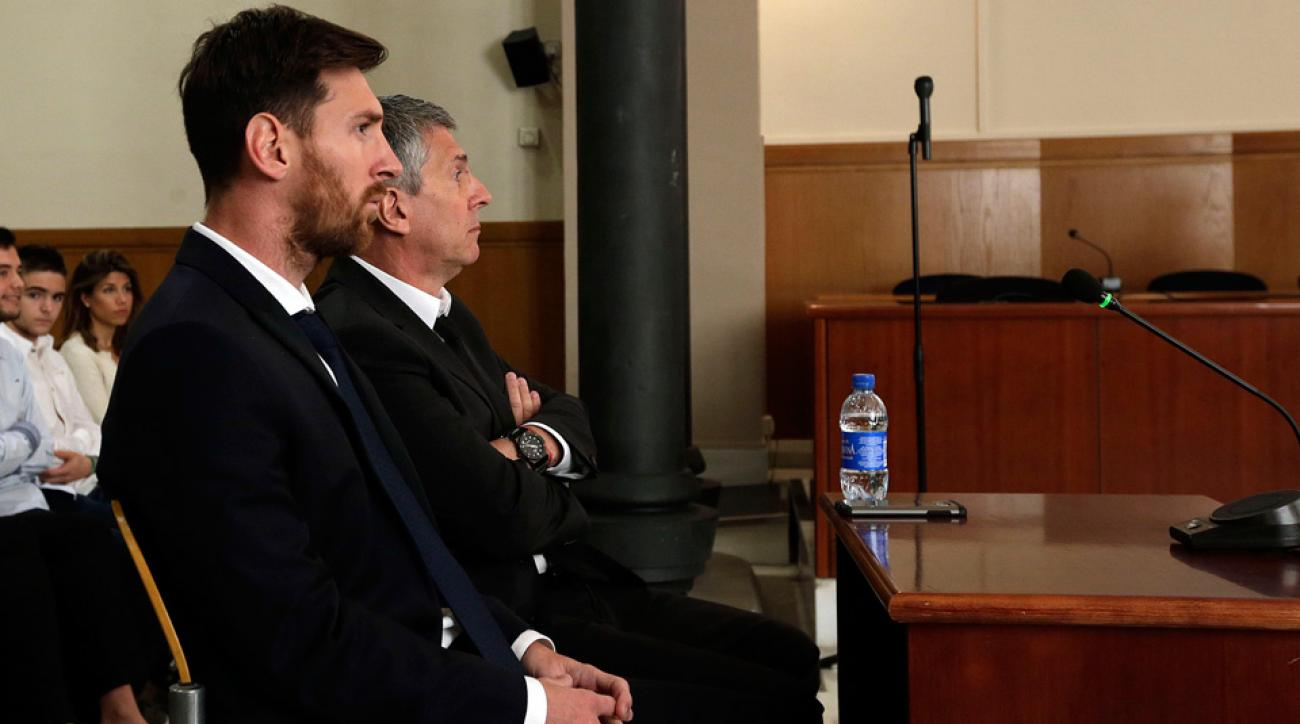 Messi testifies at his tax fraud trial