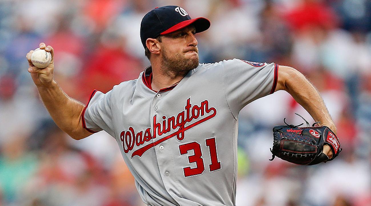Washington Nationals Max Scherzer