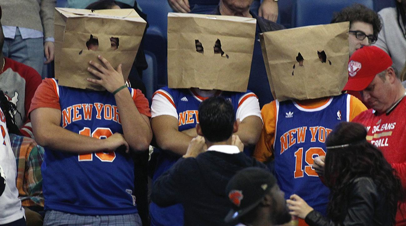 new york knicks draft pick hat