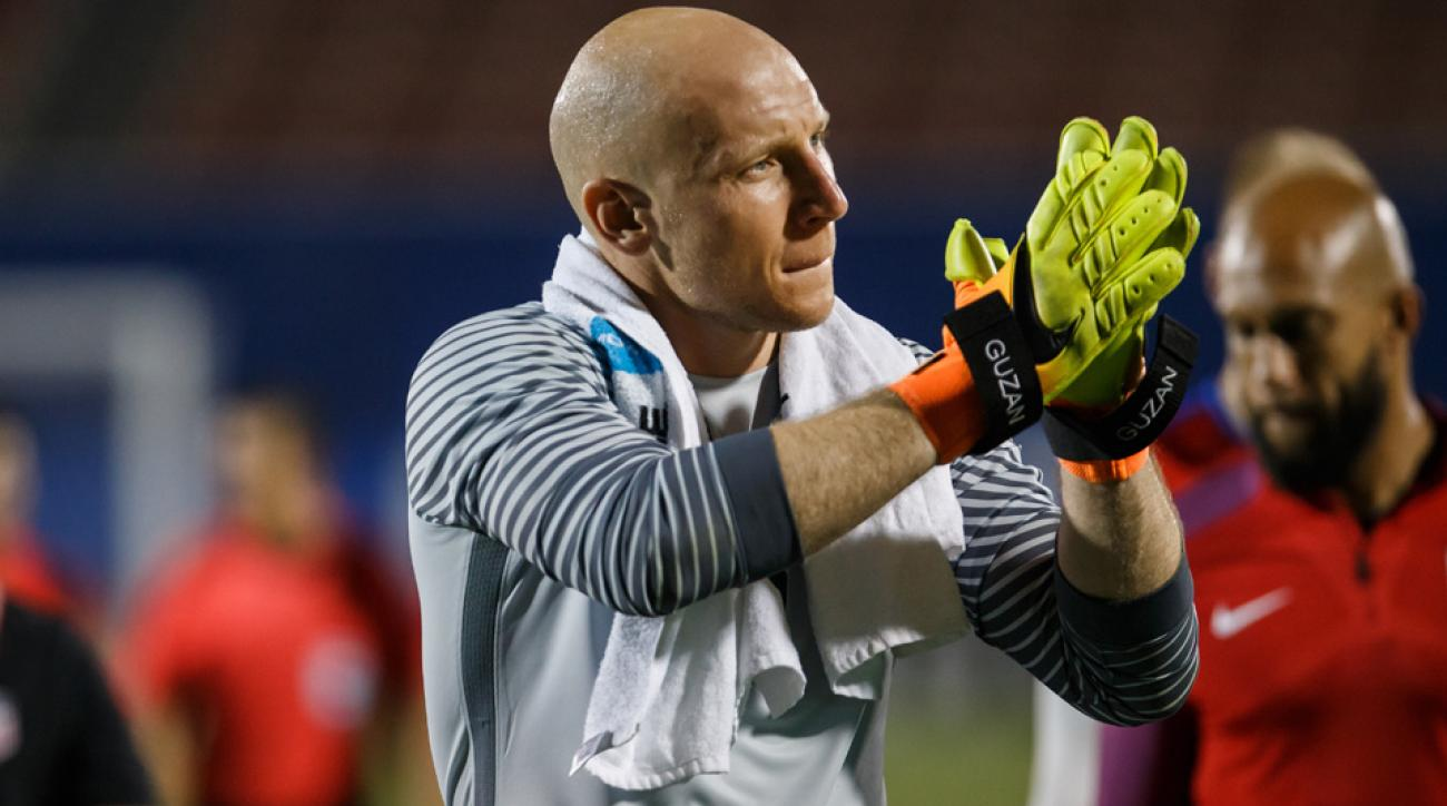 USA No. 1 goalkeeper Brad Guzan is coming off a nightmare campaign with Aston Villa