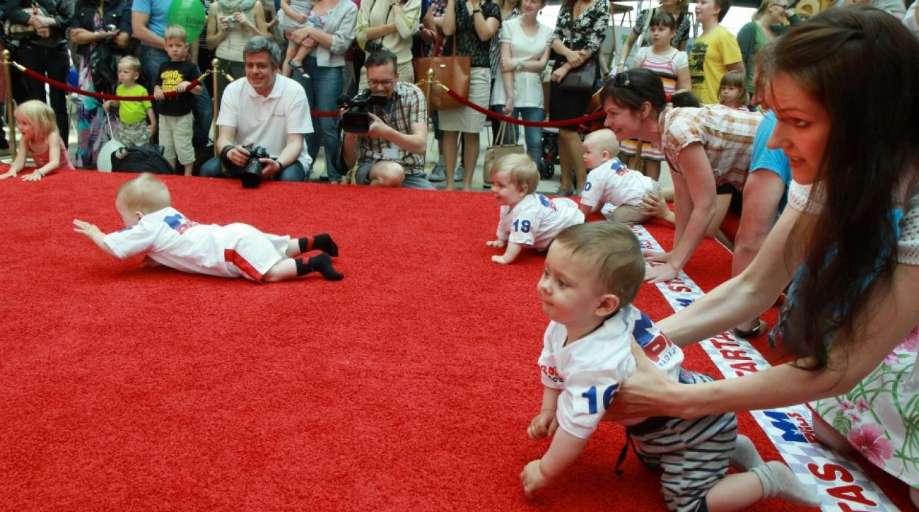 Lithuania holds annual baby race