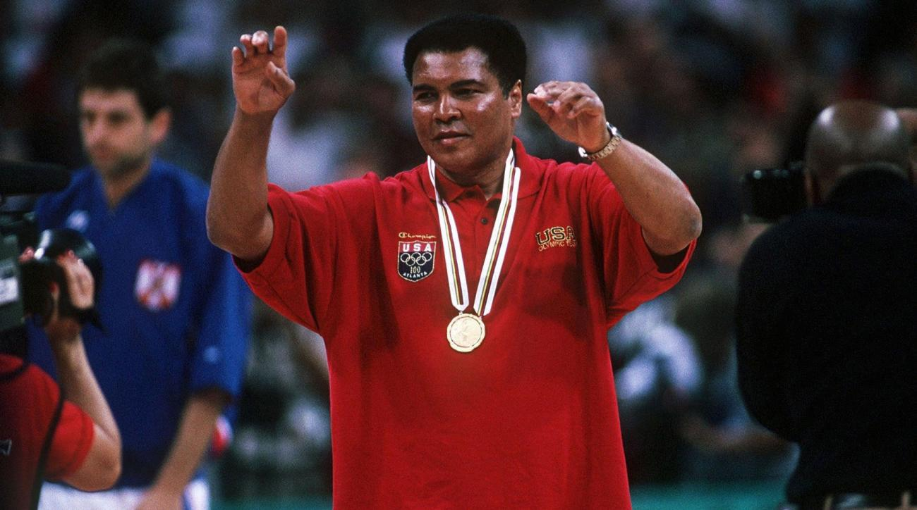 muhammad ali dies team usa olympic tribute