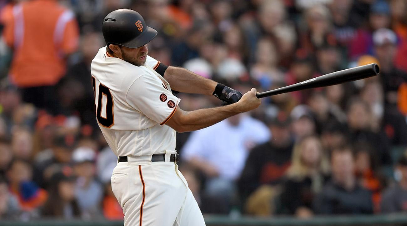 madison bumgarner home run