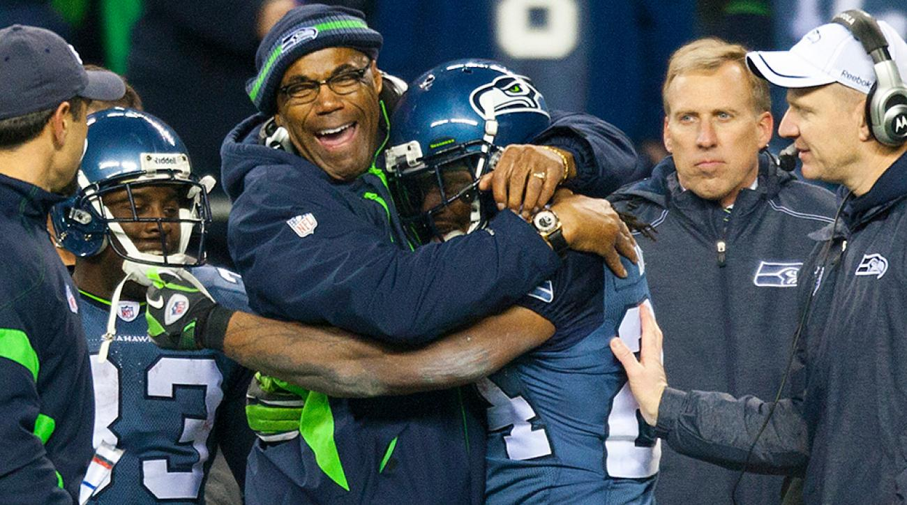 The Seahawks' Sherman Smith is the ideal running back coach for our ultimate NFL coaching staff.