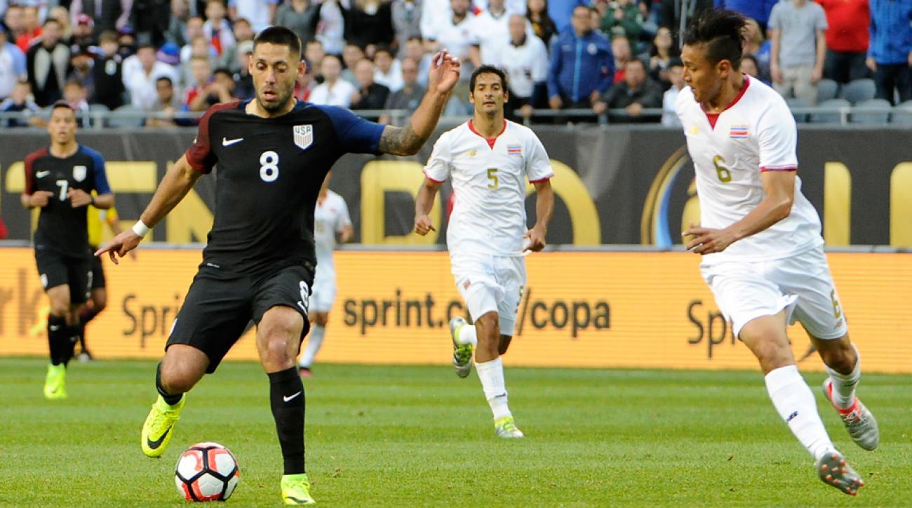 Clint Dempsey starred for the USA vs. Costa Rica in Copa America