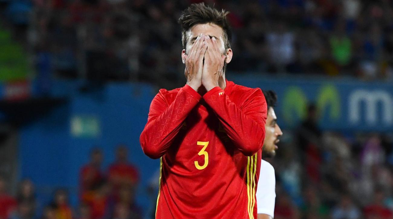 Spain loses to Georgia in a Euro 2016 tune-up