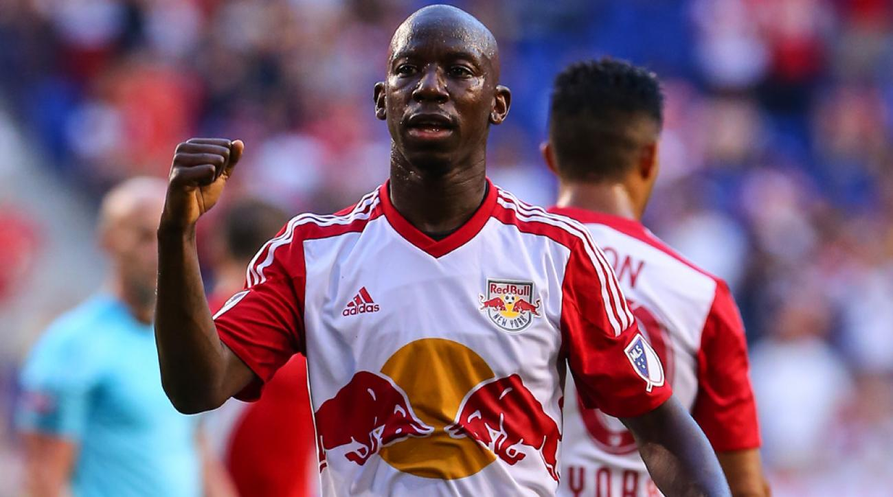 New York Red Bulls forward Bradley Wright-Phillips