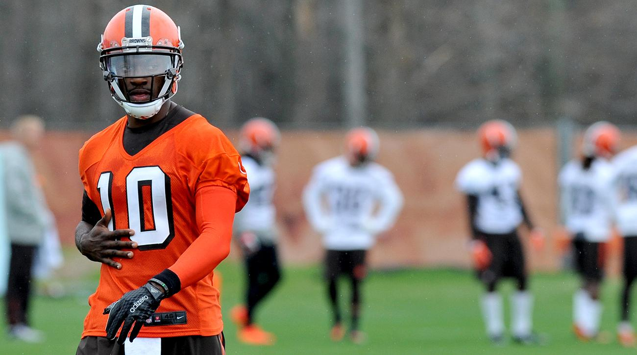 Robert Griffin III won't enter training camp with the Browns' starting quarterback job locked down.