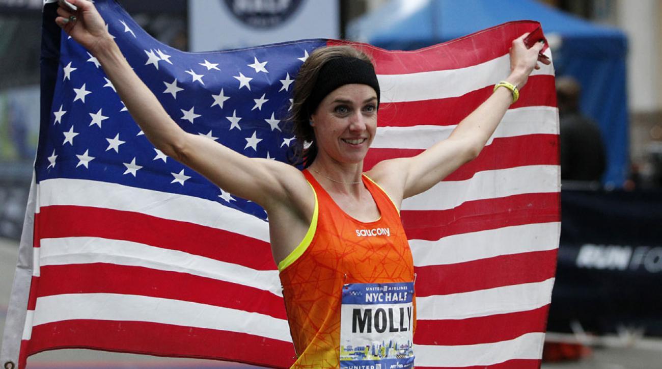 molly huddle new york city marathon debut