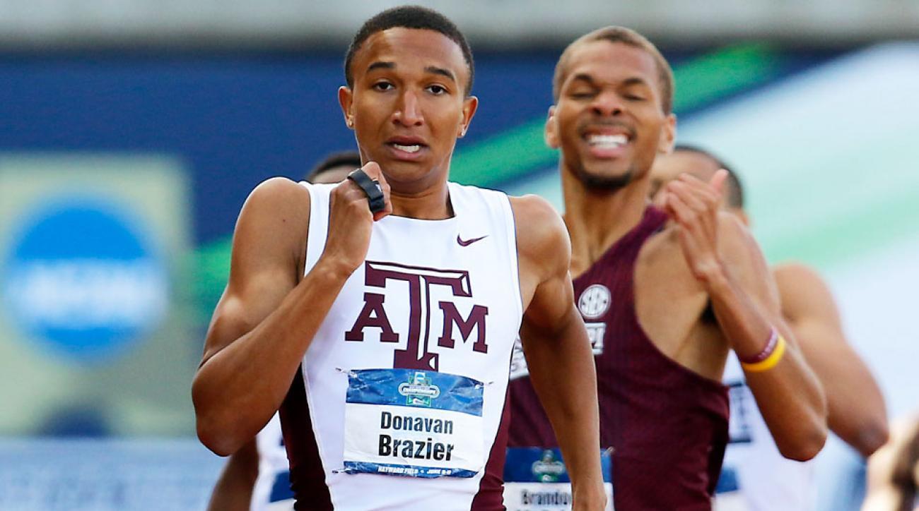 donavan brazier ncaa record 800 meters