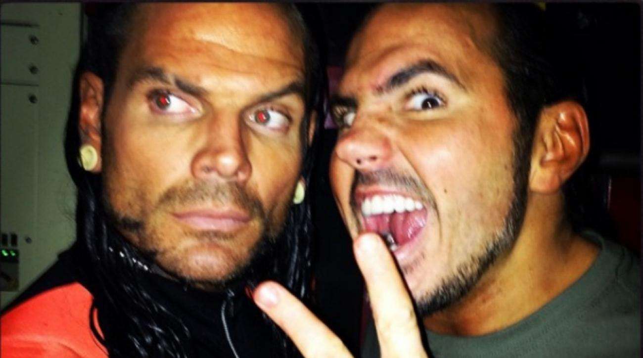 Jeff Hardy takes on his borther Matt Hardy at TNA's Slammiversary