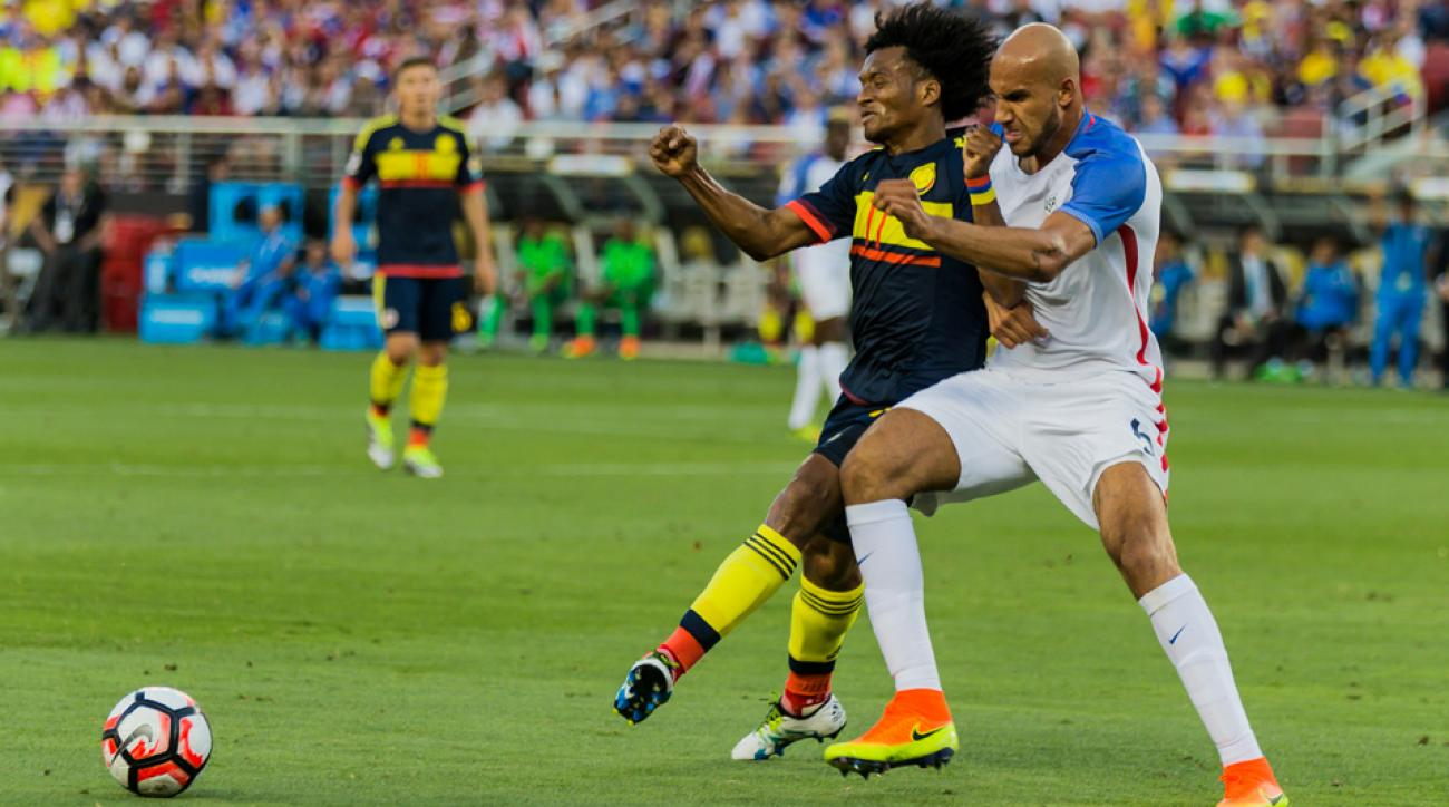 U.S. men's national team center back John Brooks has locked down a starting place