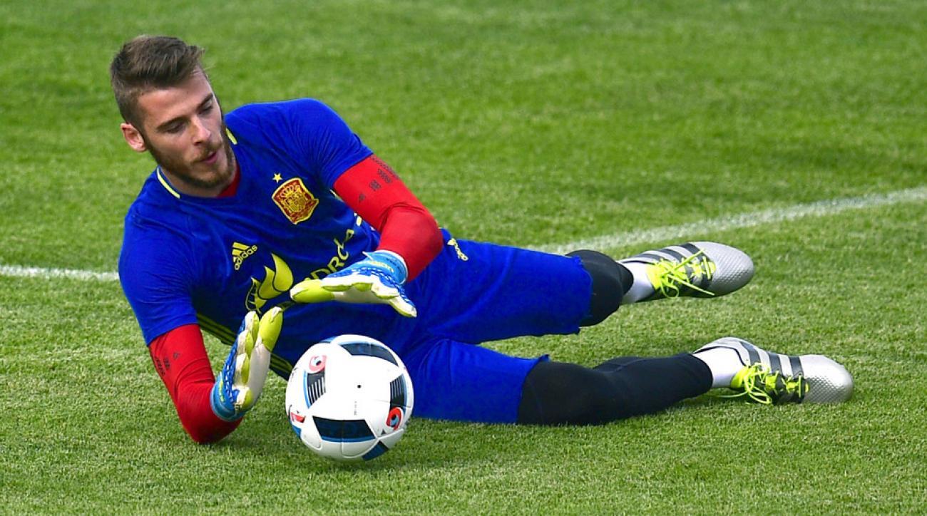 David De Gea is in the spotlight for Spain ahead of Euro 2016
