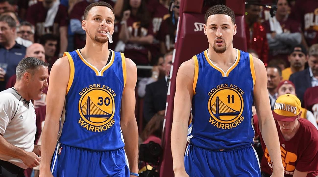 NBA Finals: Stephen Curry, Klay Thompson suffering ...