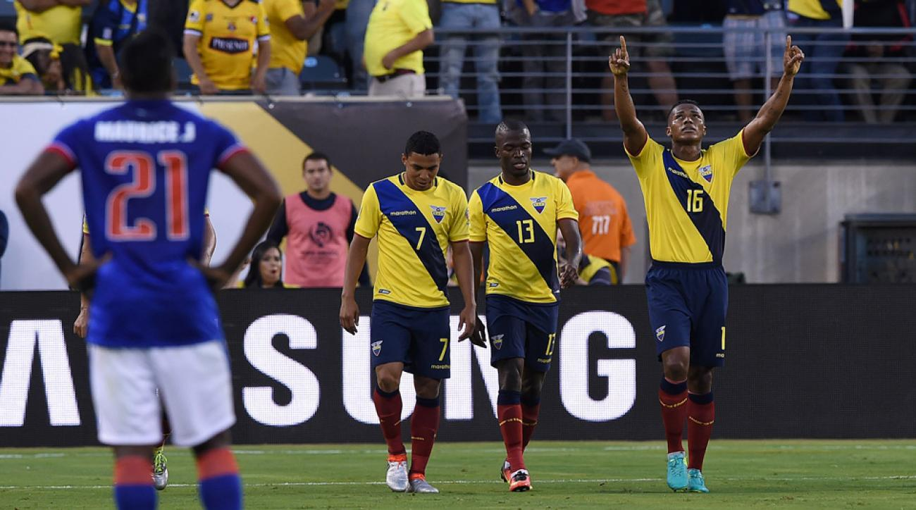 Ecuador routs Haiti at Copa America
