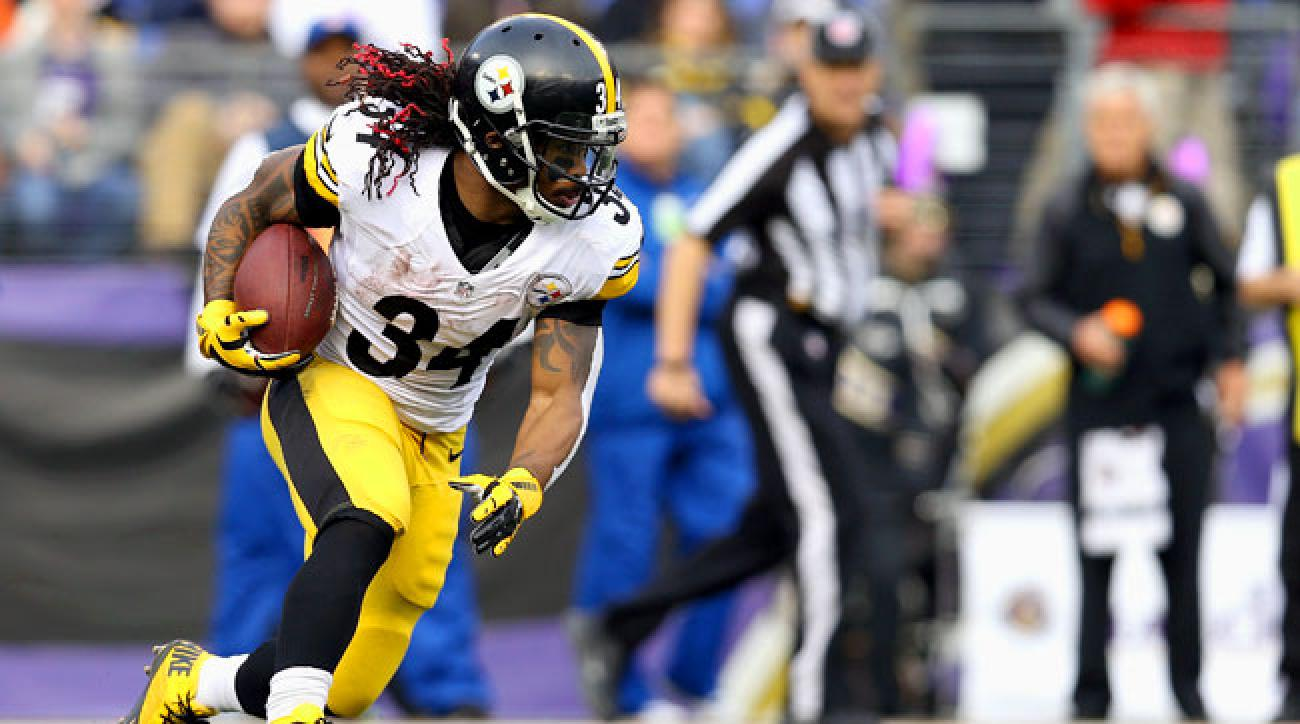 Steelers running back DeAngelo Williams.
