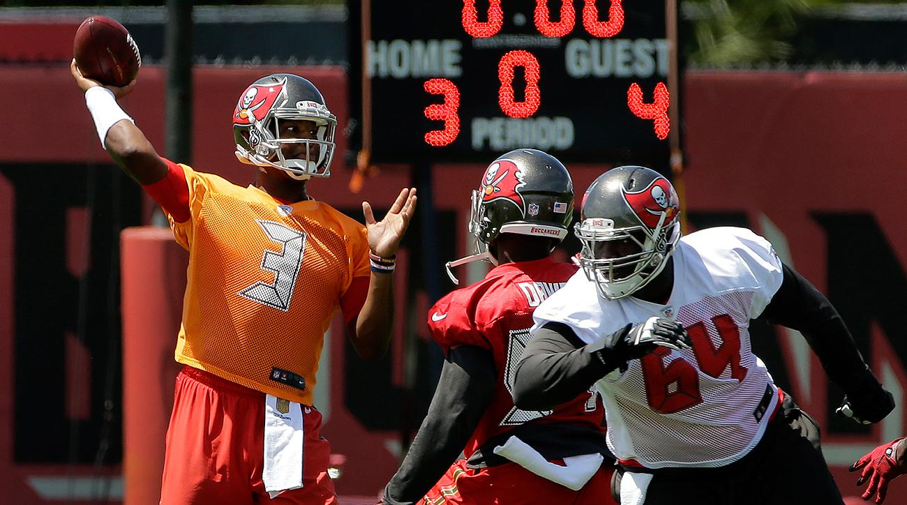 Jameis Winston threw for 4,042 yards with 22 touchdowns and 15 interceptions in his rookie campaign.