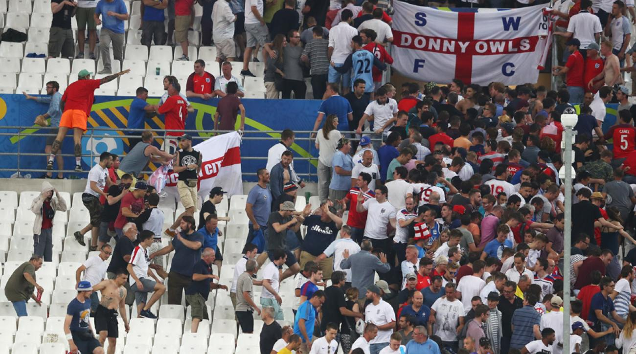 russian official fan violence euro 2016 england