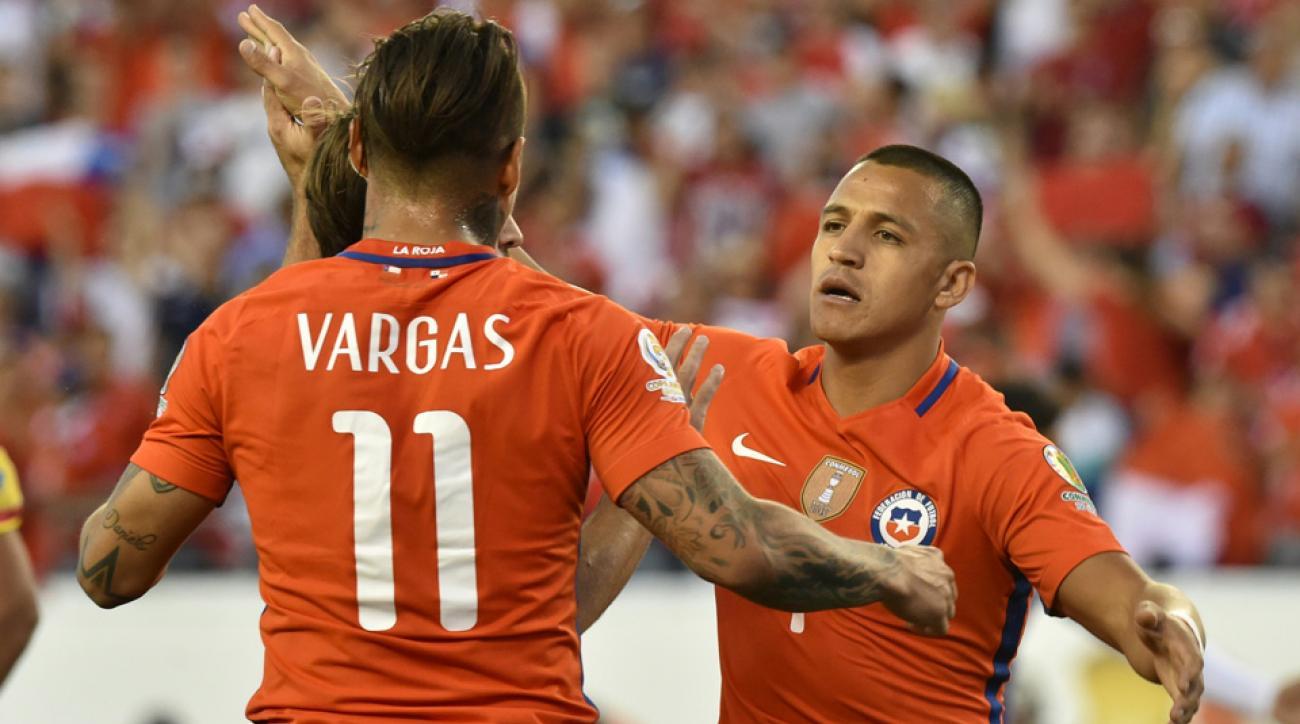 Eduardo Vargas, Alexis Sanchez lead Chile vs. Panama