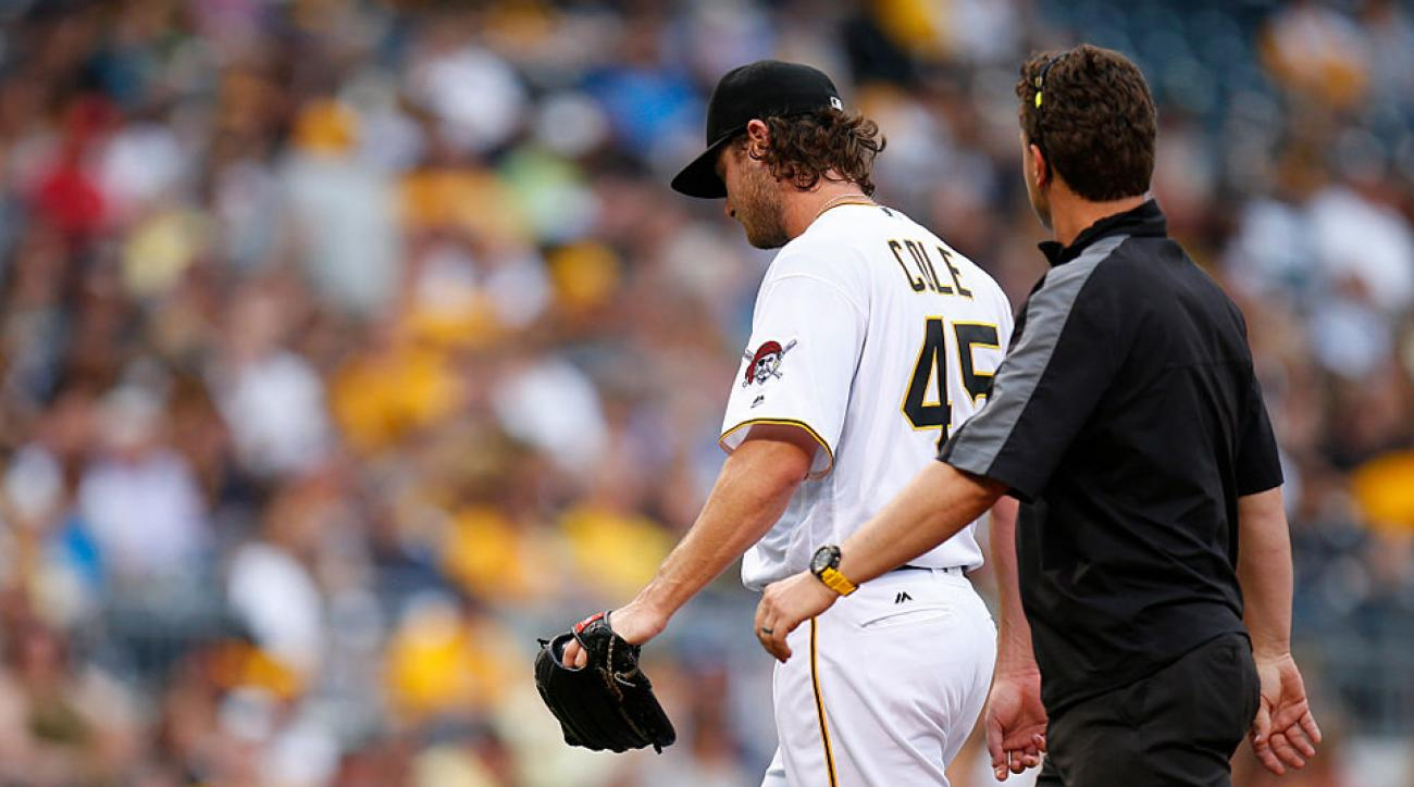 gerrit cole injury jameson taillon