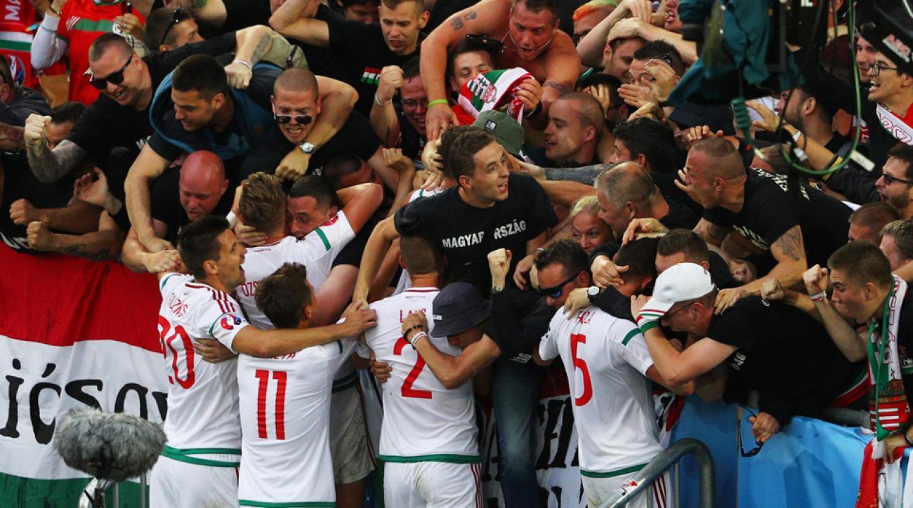 Hungary beats Austria at Euro 2016