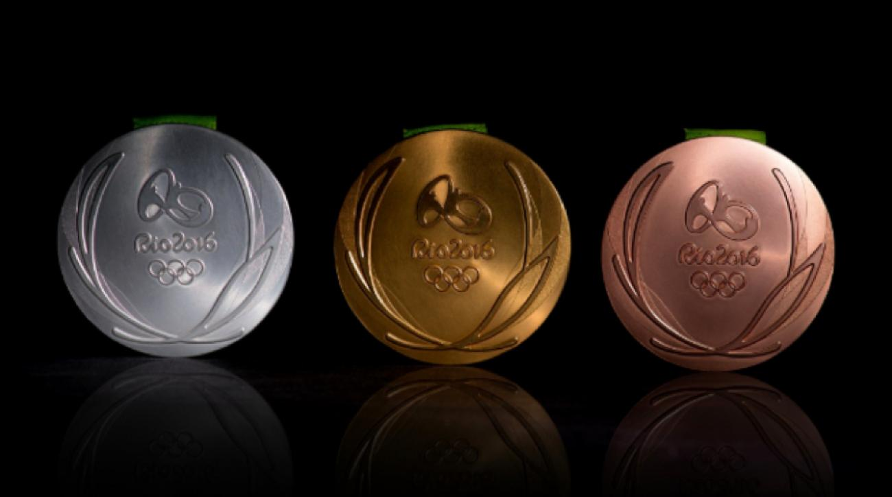 rio 2016 olympic medals photos