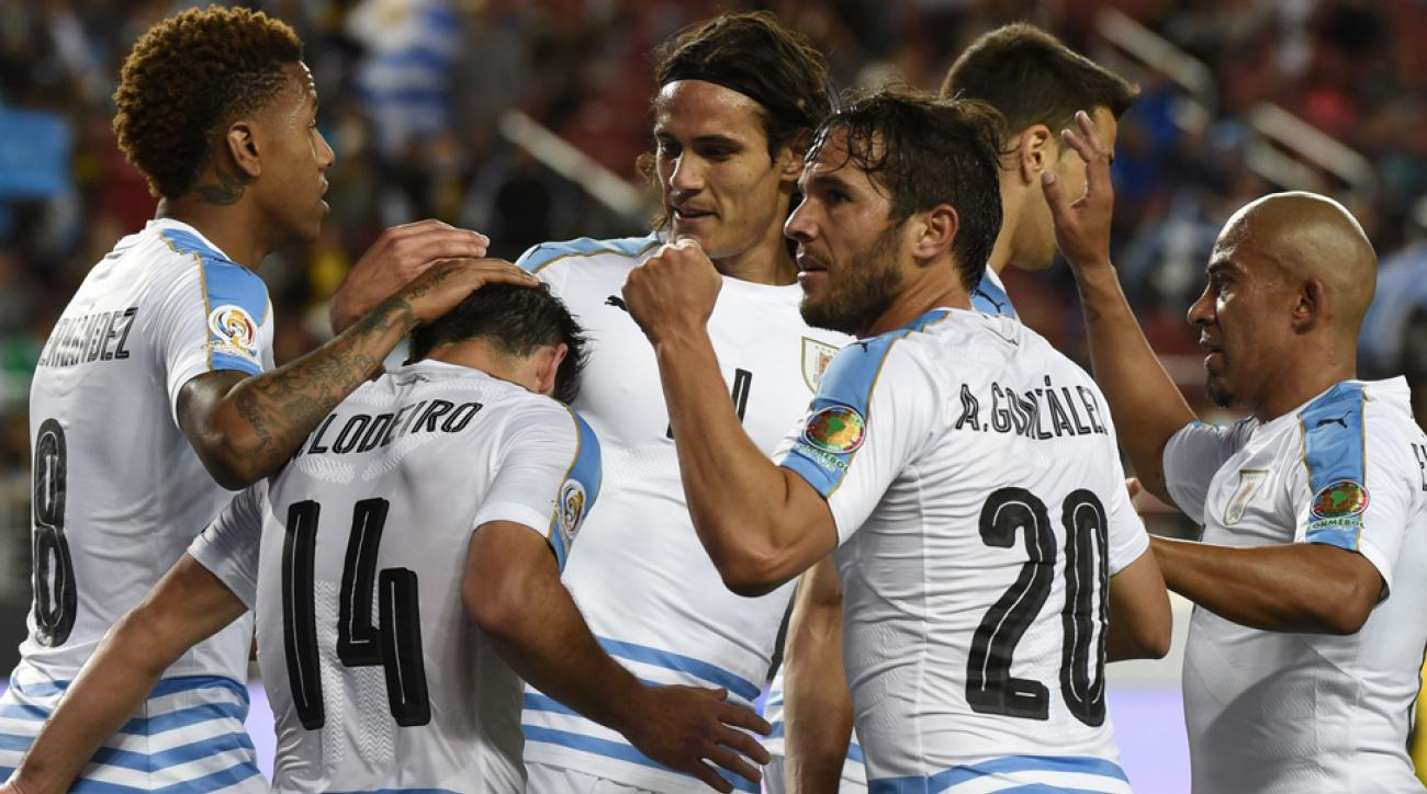 Uruguay beats Jamaica in their final match at Copa America