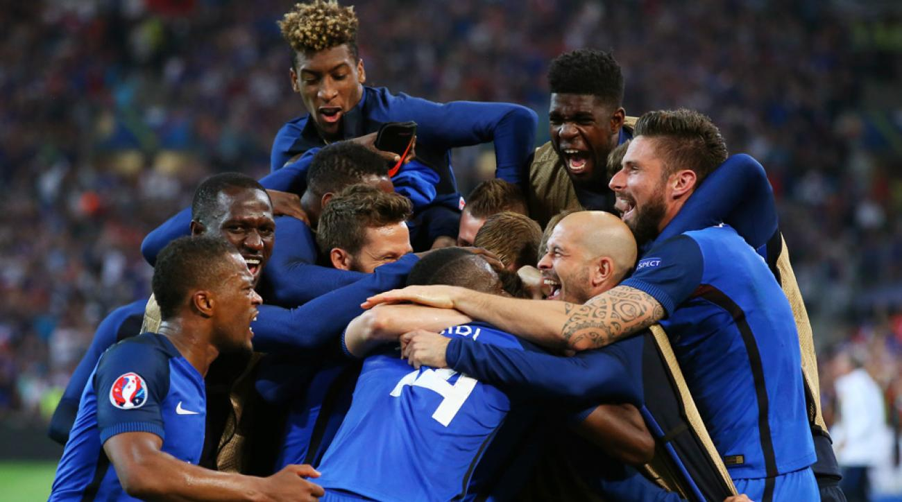 France beats Albania to reach Euro 2016 knockout stage