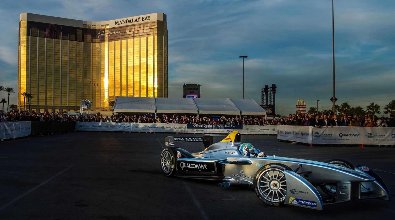 formula one racing las vegas grand prix