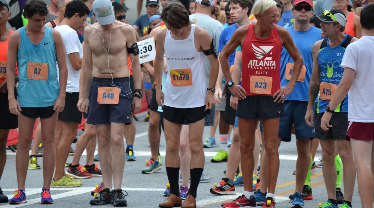 half marathon runner dress shoes