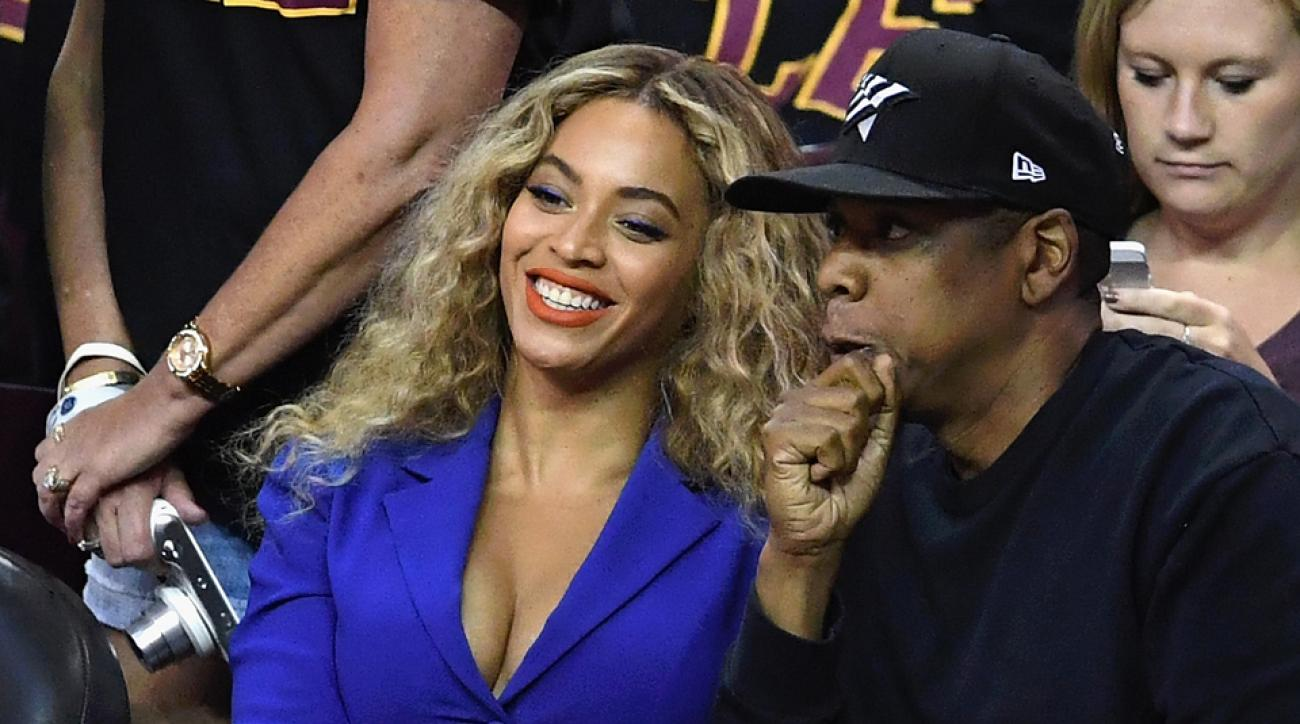 jay z beyonce nba finals game 6