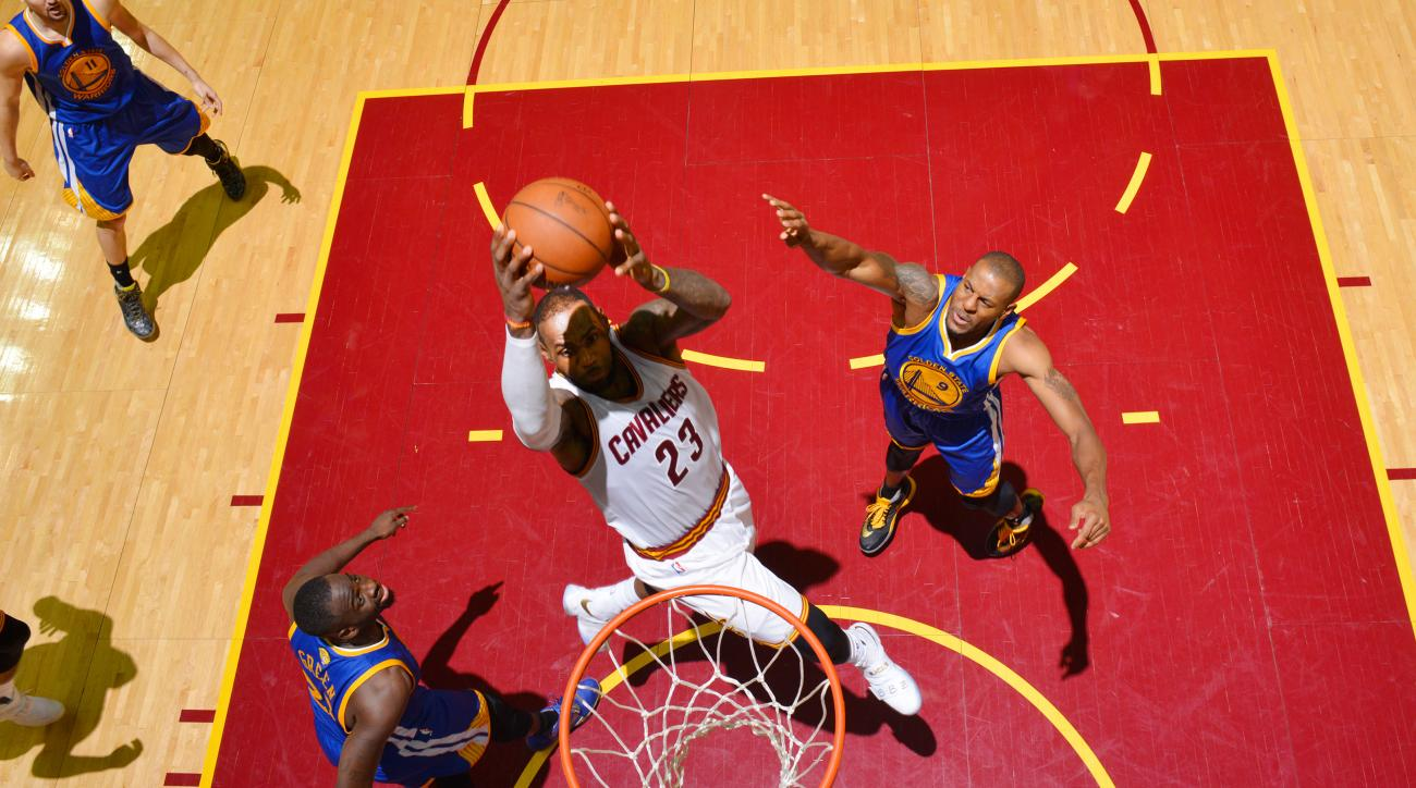 lebron james cavs game 6 dunk video