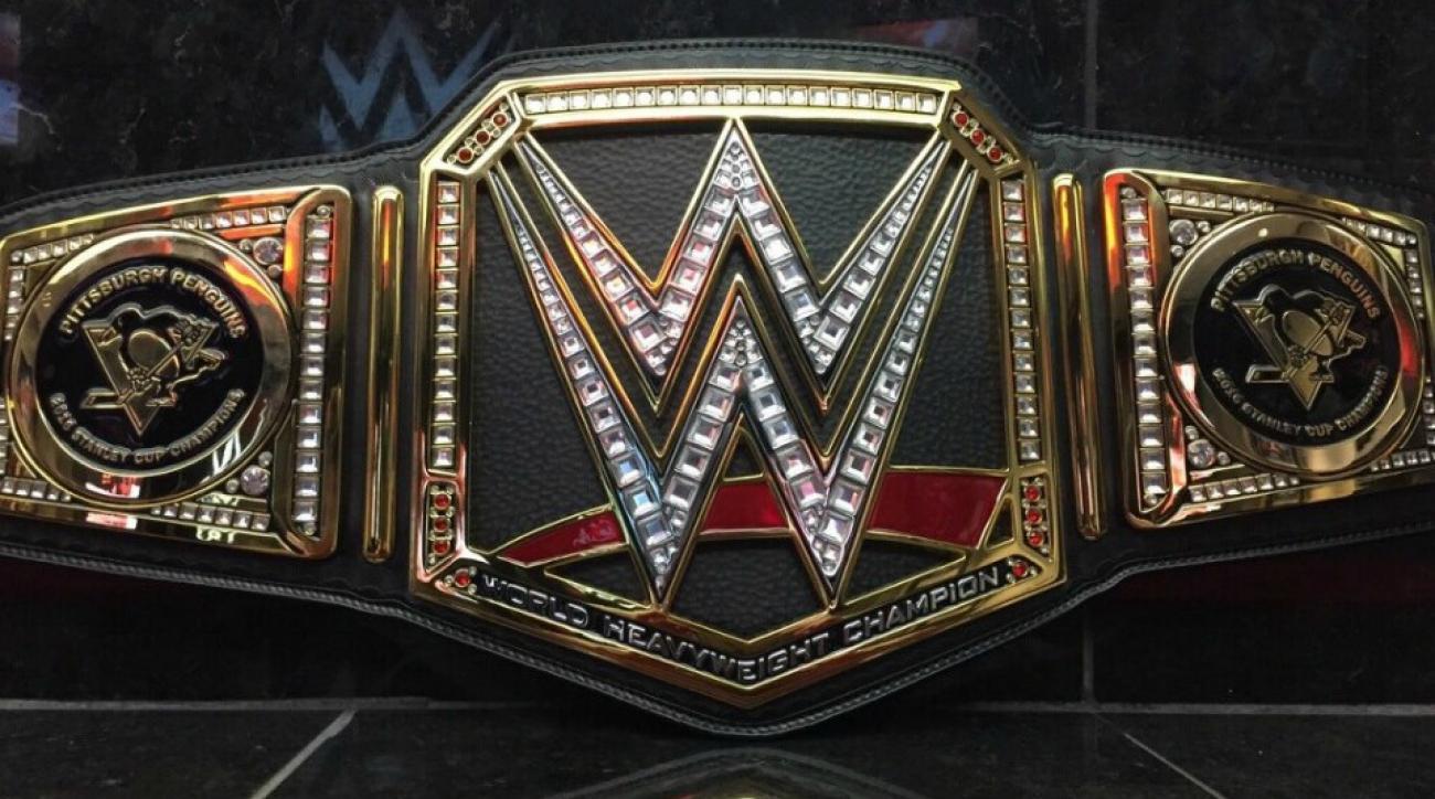 Penguins HBK line getting custom WWE belts after championship run