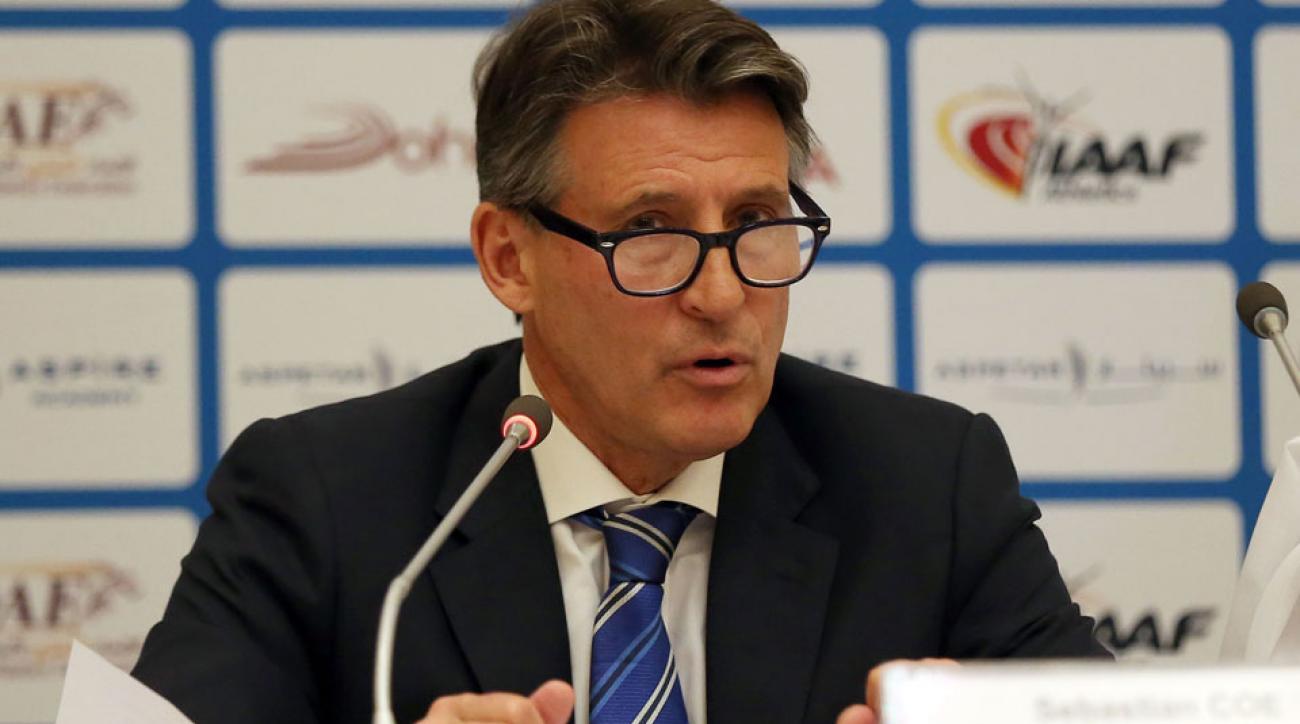 seb coe iaaf allegations russian doping