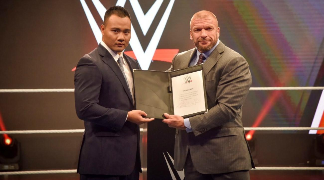 WWE signs first Chinese wrestler