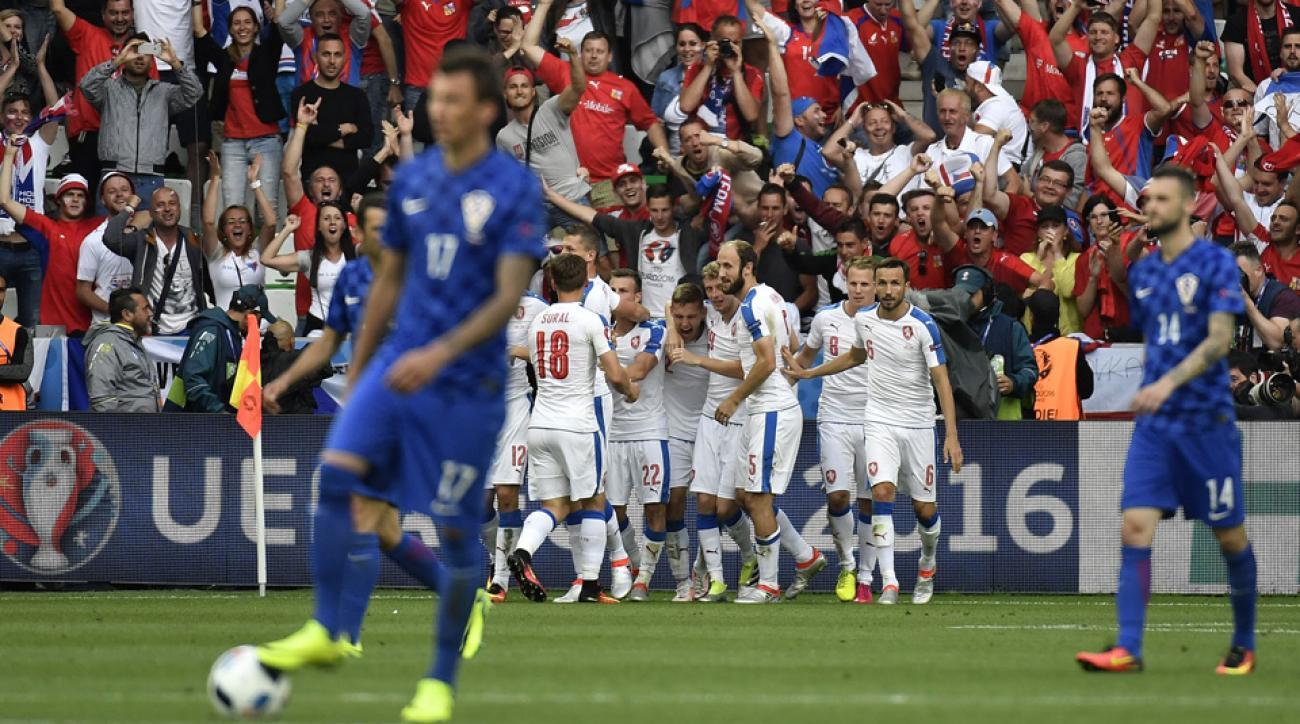 Czech Republic, Croatia played to a 2-2 draw at Euro 2016