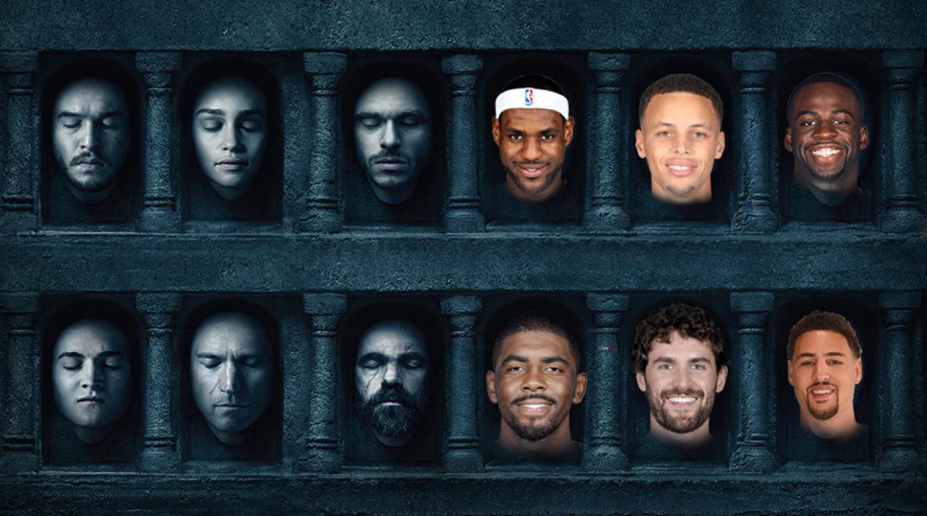 nba finals cavaliers warriors game 7 game of thrones quiz
