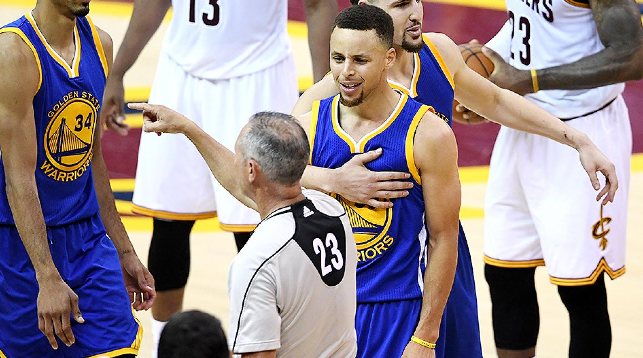 nba-finals-stephen-curry-ejection-golden-state-warriors-cleveland-cavaliers-game-6-video