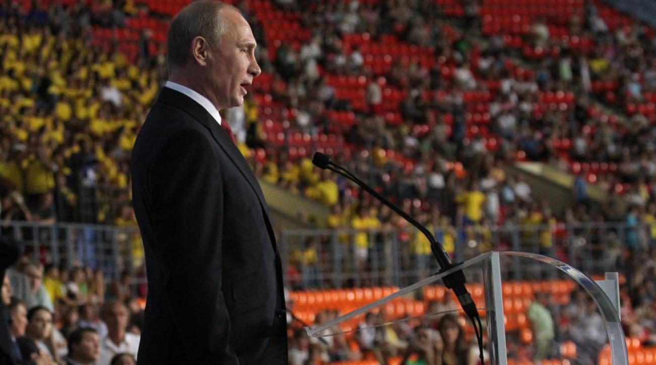 vladimir putin iaaf russia doping ban olympics 2016