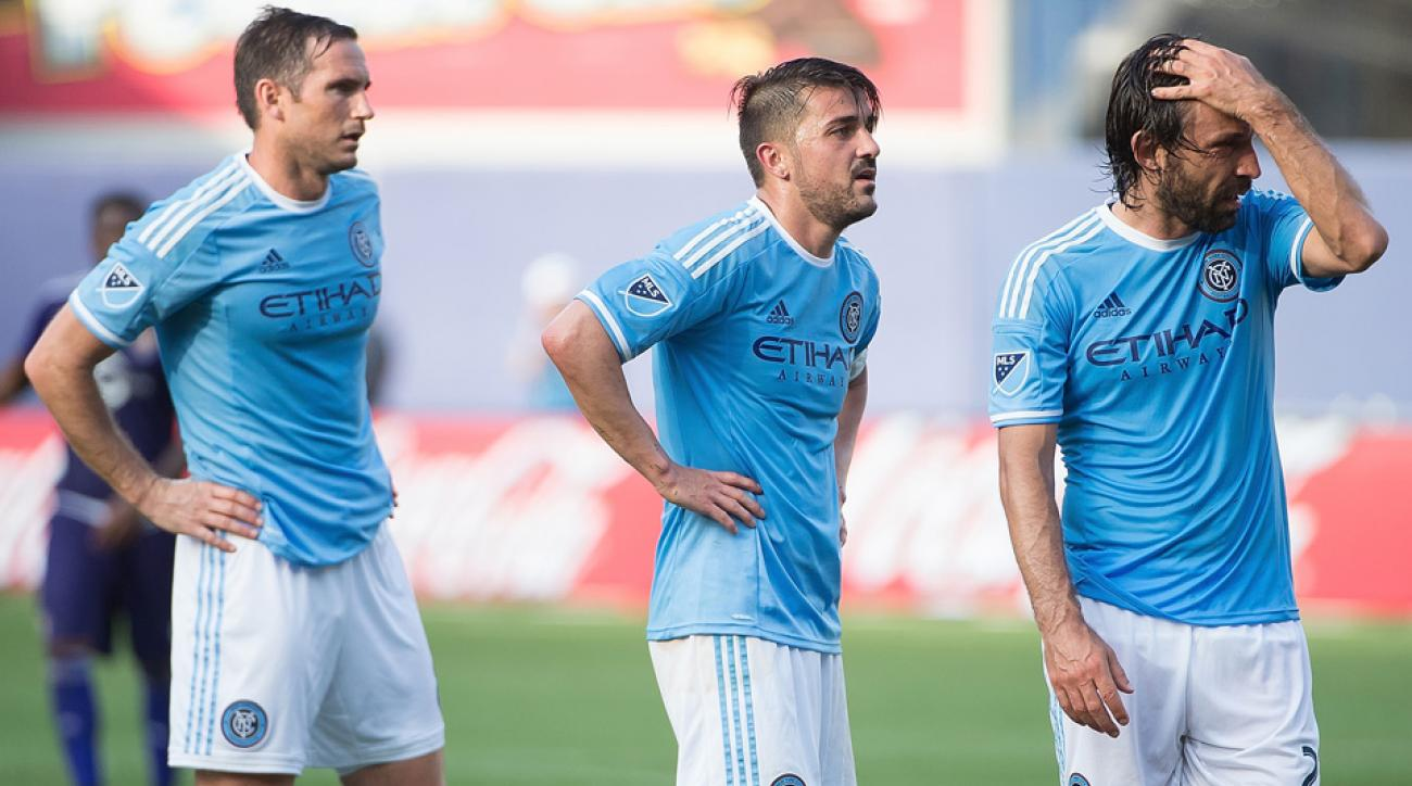 Frank Lampard, David Villa, Andrea Pirlo all score for NYCFC vs. Philadelphia Union