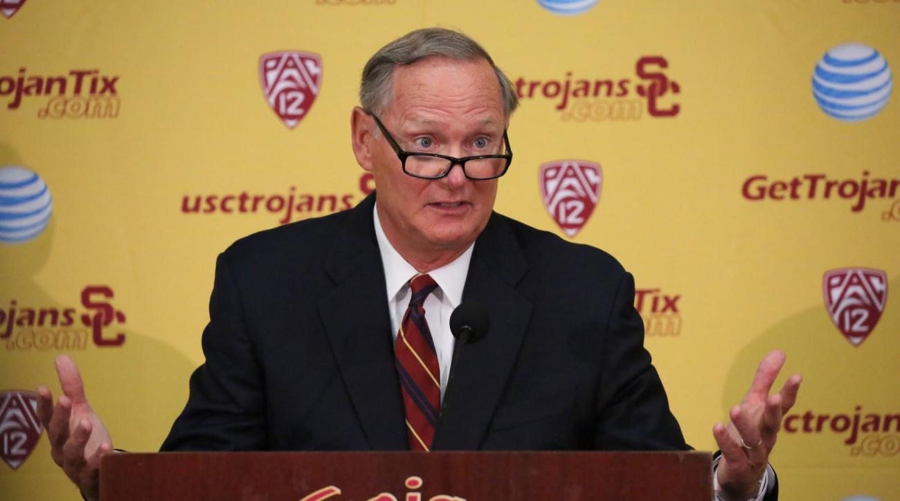 pat haden usc charity earnings